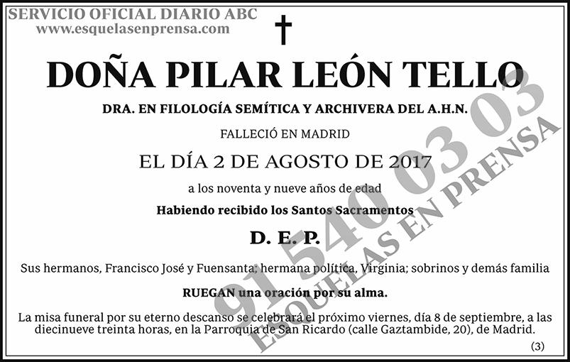 Pilar León Tello
